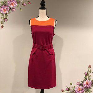 MAKE AN OFFER ;) Sleeveless dress with belt